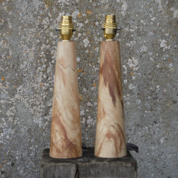 Spalted-Beech-lamps-11inc-£65-x-2